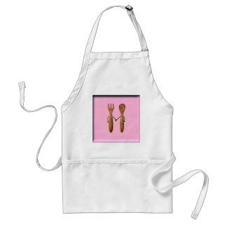 kitchen bridal shower apron