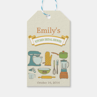 Kitchen Bridal Shower Gift Tag