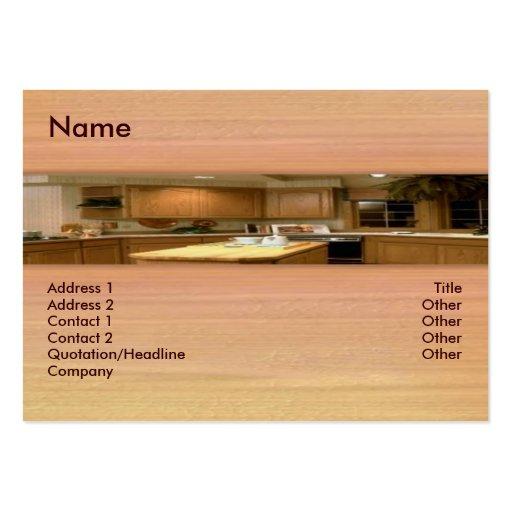 Kitchen Business Card