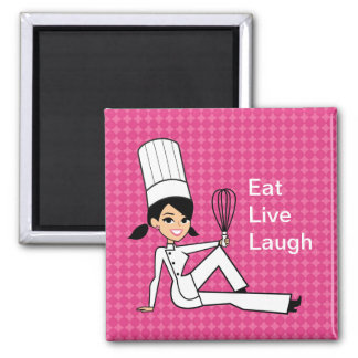 Kitchen Chef Fridge Magnet