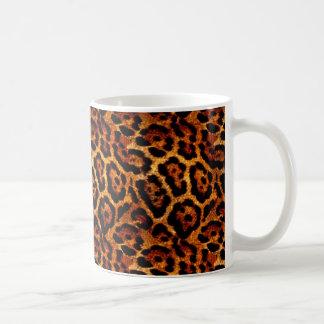 Kitchen Coffee Mug in Leopard Animal Print