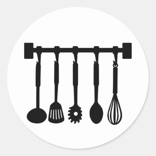 Kitchen - Cook Round Sticker