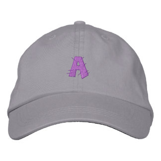 Kitchen Craft Letter A Embroidered Hats