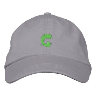 Kitchen Craft Letter G Embroidered Hat