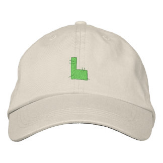 Kitchen Craft Letter L Embroidered Baseball Caps
