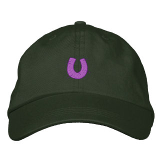 Kitchen Craft Letter U Embroidered Baseball Caps
