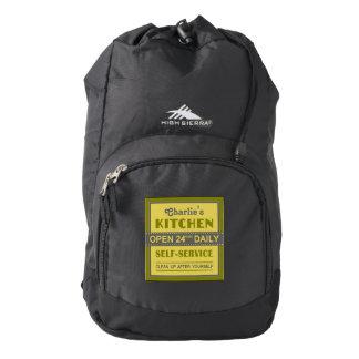 Kitchen – custom name – backpacks backpack