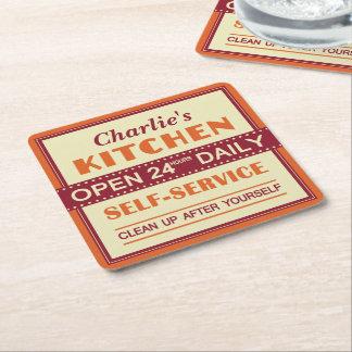 Kitchen – custom name – coasters