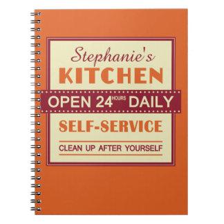 Kitchen – custom name – notebook