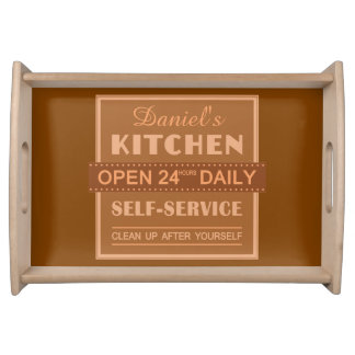 Kitchen – custom name – serving tray