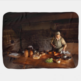Kitchen - Farm cooking Swaddle Blankets