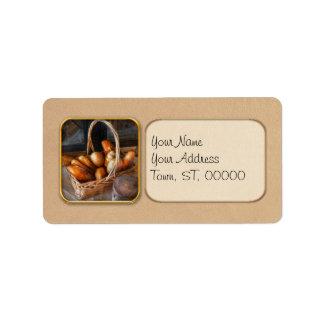 Kitchen - Food - Bread - Fresh bread Address Label