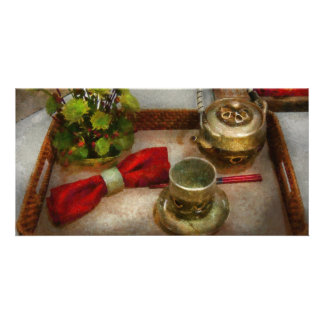 Kitchen - Formal tea ceremony Photo Card