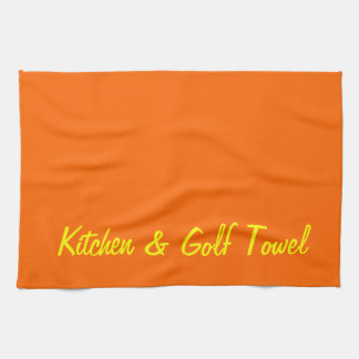 Kitchen & Golf Tea Towel