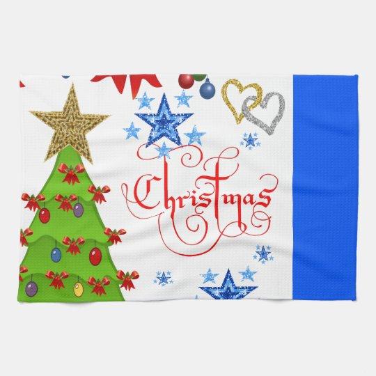 kitchen hand towel christmas
