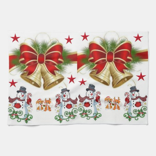 kitchen hand towel christmas