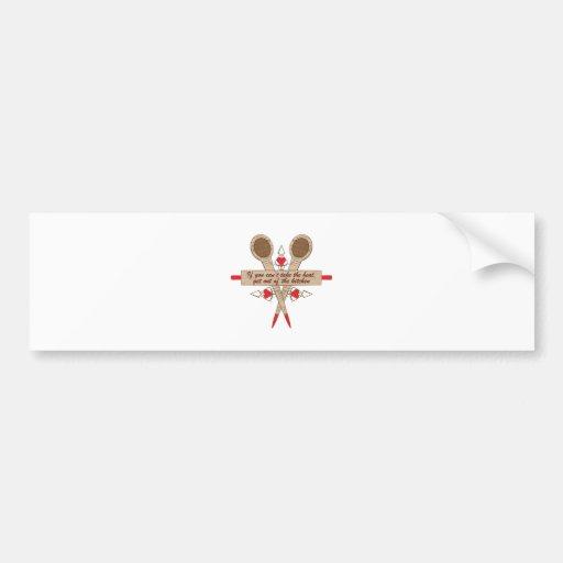 Kitchen Heat Bumper Stickers