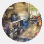 Kitchen - Home Country Kitchen Round Stickers