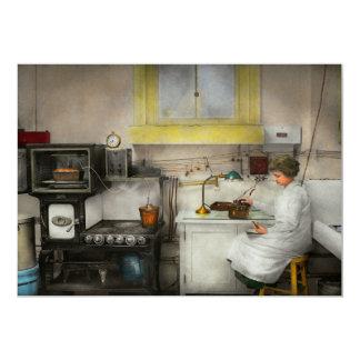 Kitchen - How I bake bread 1923 13 Cm X 18 Cm Invitation Card