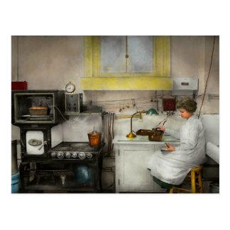 Kitchen - How I bake bread 1923 Postcard