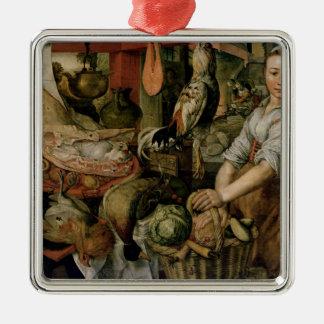 Kitchen Interior, 1566 Christmas Ornament