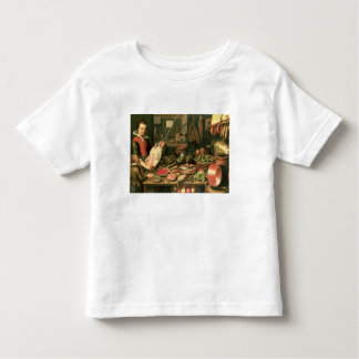 Kitchen Interior with a Maid Toddler T-Shirt