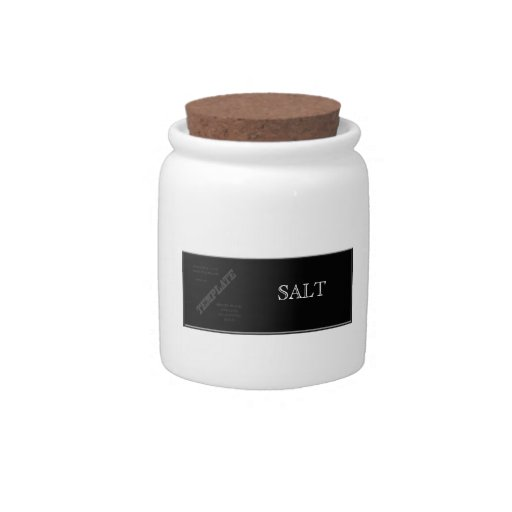 Kitchen jars template candy dishes