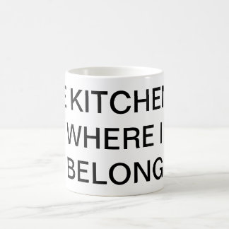 Kitchen joke mug