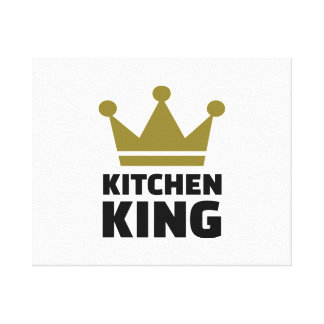 Kitchen king gallery wrap canvas