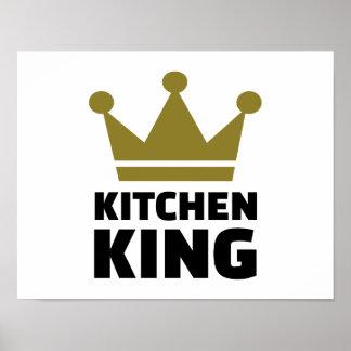 Kitchen king poster
