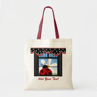 Kitchen Ladybug Tote - SRF Budget Tote Bag