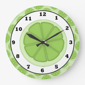 Kitchen Lime Slice clock