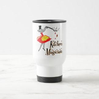 Kitchen Magician Cooking Saying Customizable Mug