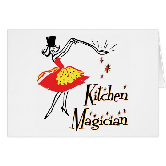 Kitchen Magician Retro Cooking Art Cards