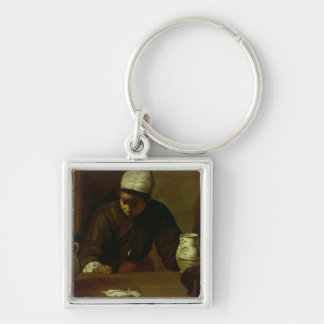 Kitchen Maid with the Supper at Emmaus, c.1618 Key Ring