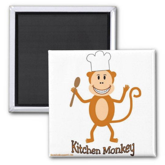 Kitchen Monkey magnet