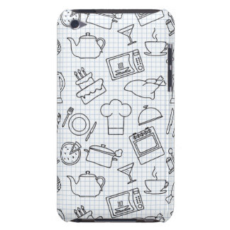 Kitchen Pattern 4 Barely There iPod Case