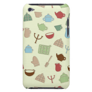 Kitchen pattern iPod touch cover