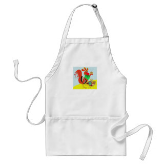 Kitchen Rooster Standard Apron