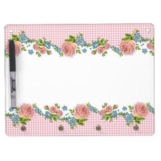 Kitchen Rose dry erase board (horizontal)