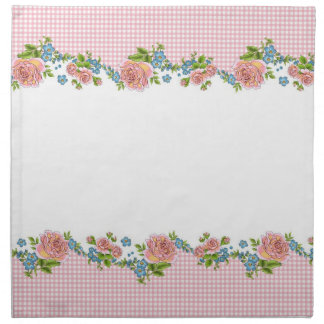 Kitchen Rose napkin set