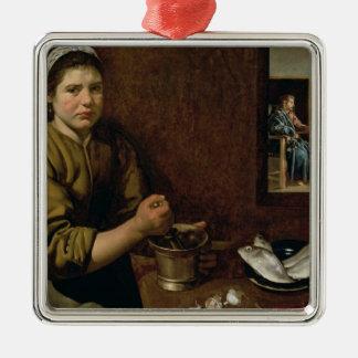 Kitchen Scene Christmas Ornament