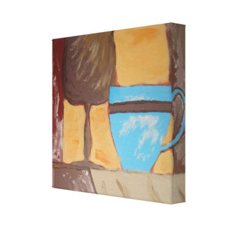 Kitchen Series Painting 2 Gallery Wrapped Canvas