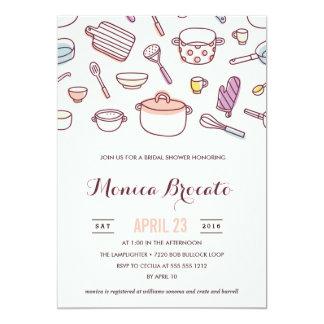 KITCHEN SHOWER bridal shower invitation