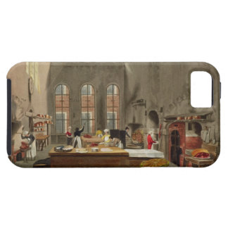 Kitchen, St. James's Palace, engraved by William J iPhone 5 Cases