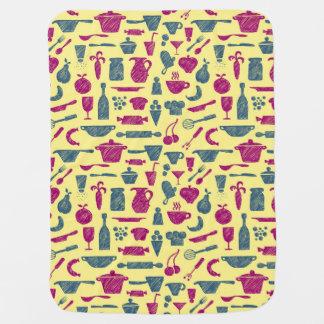 Kitchen supplies baby blanket