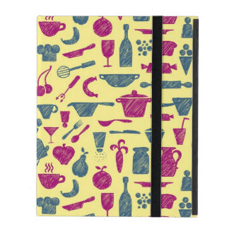 Kitchen supplies iPad folio case