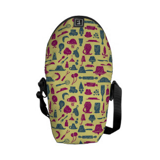 Kitchen supplies messenger bag