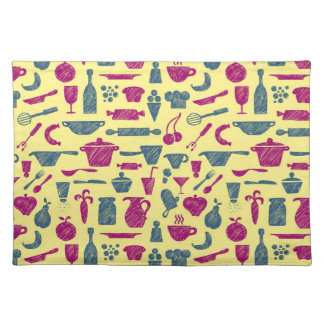 Kitchen supplies placemat