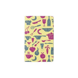 Kitchen supplies pocket moleskine notebook